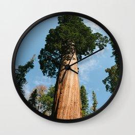 General Sherman Tree Wall Clock