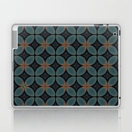 Metallic Deco Blue Laptop & iPad Skin