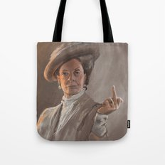 Maggie Smith Gives the Finger Tote Bag