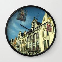 Architecture of Mechelen Wall Clock