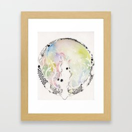 Circle of Objects And  Subjects; Round Two Series  Framed Art Print