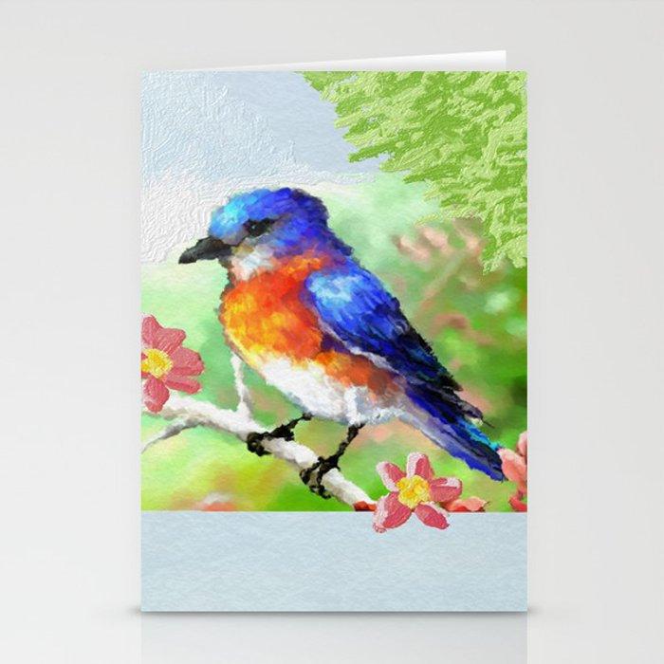 Baby Bird Stationery Cards