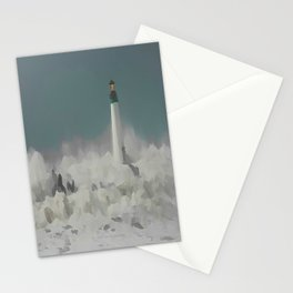 SANTA CRUZ LIGHT HOUSE 011 Stationery Cards