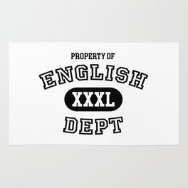 Property of the English Department Rug