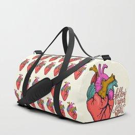 FOLLOW YOUR HEART - tatoo artwork Duffle Bag