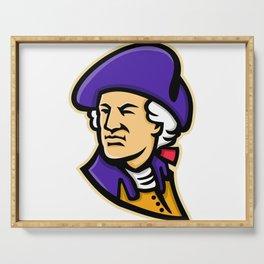 George Washington Mascot Serving Tray