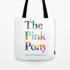 The Pink Pony Tote Bag