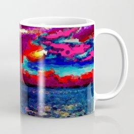 Magenta, pink, red, blue Coffee Mug