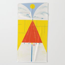 SUMMER QUEST Beach Towel