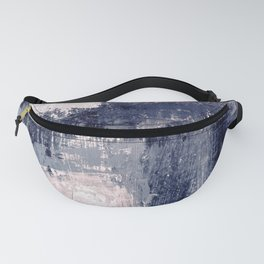 pink navy Fanny Pack
