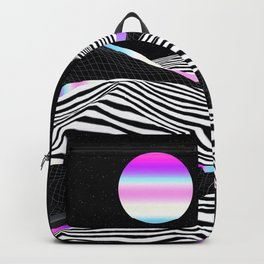 Stripes Mountains Backpack