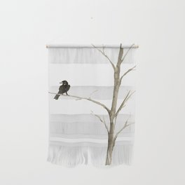 Raven in a Tree Wall Hanging