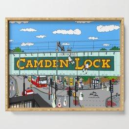 Bunnies in London Camden Lock Serving Tray