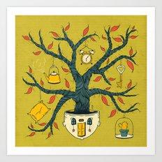 Dulce, hogar dulce Art Print