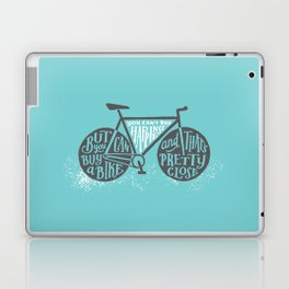 You Can't Buy Happiness Laptop & iPad Skin