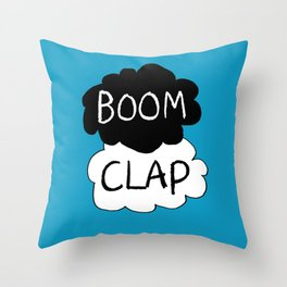 Boom Clap (the sound of my heart - TFIOS) Throw Pillow