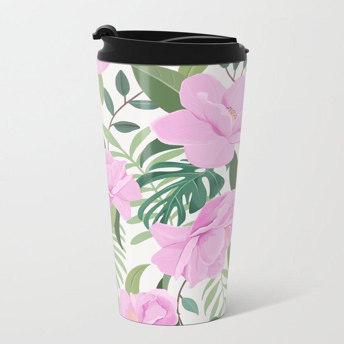 Soft Garden Metal Travel Mug