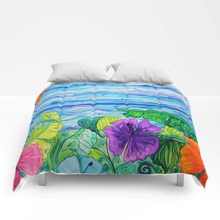 Lanai View Comforters