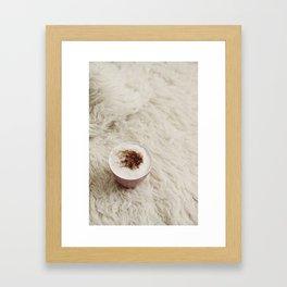 Café.  Framed Art Print