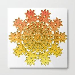 background image ornament Metal Print