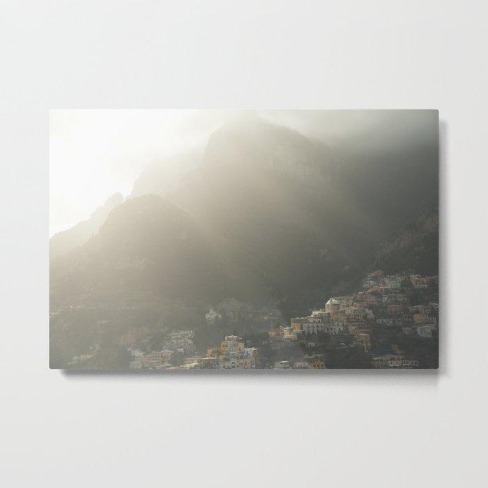 Amalfi Vibes Metal Print