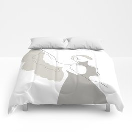 Cream Wings Comforters