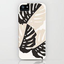 Monstera Delicious #1 #minimal #tropical #decor #art #society6 iPhone Case