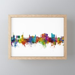 Fayetteville Arkansas Skyline Framed Mini Art Print