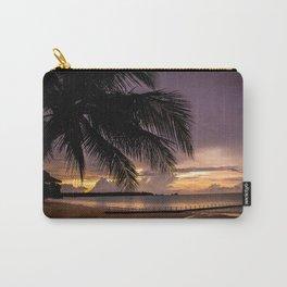 Thailand beach sunset Carry-All Pouch