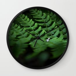 Fern #1 Wall Clock