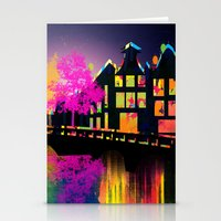 amsterdam Stationery Cards featuring Amsterdam  by mark ashkenazi