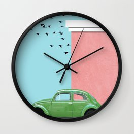 The end of the street Wall Clock