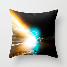 A night to die for. Throw Pillow