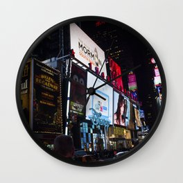 Times Square NYC Wall Clock