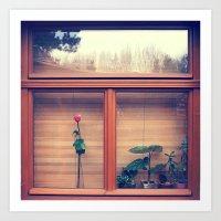 window Art Prints featuring window by Alfredo Rodriguez