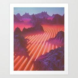 WINDCHILL (everyday 12.13.16) Art Print