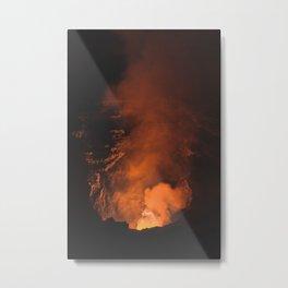 Volcan Masaya, Nicaragua Metal Print