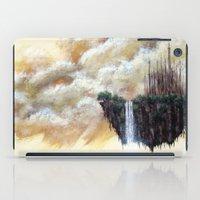 scott pilgrim iPad Cases featuring ISLAND PILGRIM by STELZ (Vlad Shtelts)