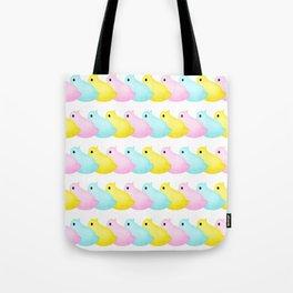 Peeps Pattern Tote Bag