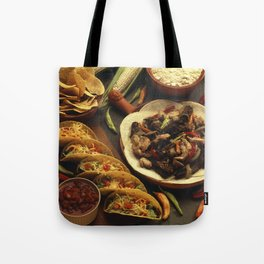 Mexican Food Tote Bag