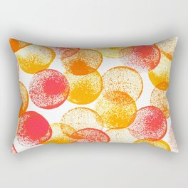 Saffron and Oranges Rectangular Pillow