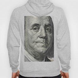 cash money old Ben 100 bucks dollars  us currency  in God we Trust Hoody