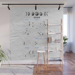 Moon calendar 2020 #12 Wall Mural