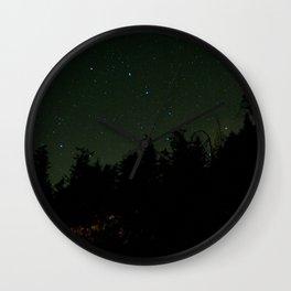 Nightscape at Orcas Island Wall Clock