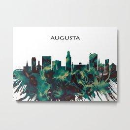 Augusta Skyline Metal Print