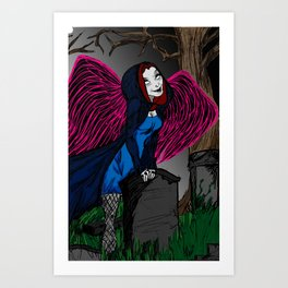 Death is looking for you Art Print