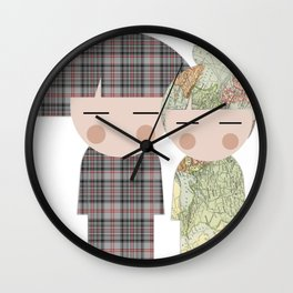 japan animation (for2) Wall Clock
