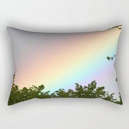 Pastel Natural Rainbow Rectangular Pillow