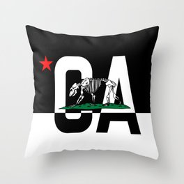 CA State of Mind  Throw Pillow