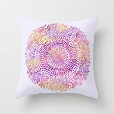 Intricate Sun Throw Pillow
